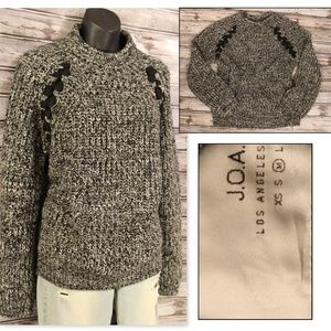 Mock Turtleneck Stitch Fix Sweater by J.O.A.